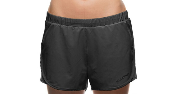 Houdini W's Pulse Shorts True Black/Rock Black